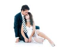 les couples aiment des jeunes Photos libres de droits