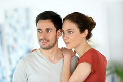 les couples autoguident aimer Photos libres de droits
