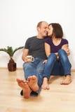les couples autoguident le bonbon Images libres de droits