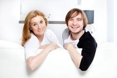 les couples autoguident neuf Photo libre de droits