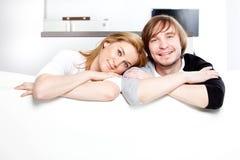 les couples autoguident neuf Images libres de droits