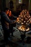 Les couples des Di Santa Maria del Fiore de Cattedrale Photographie stock libre de droits