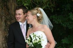 Les couples heureux Photographie stock