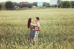 Les couples heureux Image libre de droits