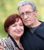 les couples heureux mûrissent Images libres de droits