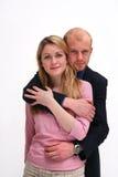 Les couples - romance de lieu de travail Photographie stock