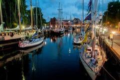 Les courses grandes 2017 de bateaux Images libres de droits