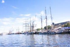 LES COURSES GRANDES KOTKA 2017 DE BATEAUX Kotka, Finlande 16 07 2017 Photographie stock libre de droits