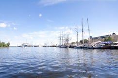 LES COURSES GRANDES KOTKA 2017 DE BATEAUX Kotka, Finlande 16 07 2017 Image libre de droits