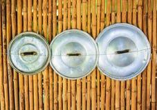 Les couvercles du pot asiatique Photos libres de droits
