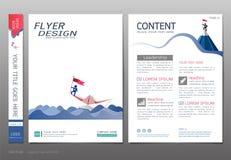 Les couvertures réservent le vecteur de calibre de conception, les concepts d'ingénierie d'affaires, utilisation pour la brochure illustration de vecteur