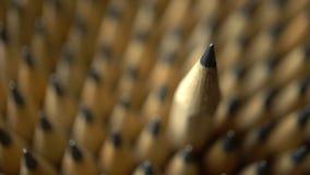 Les crayons se ferment banque de vidéos