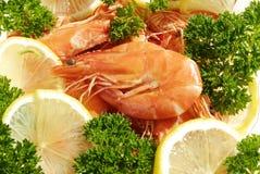 Les crevettes rouges Photographie stock
