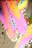 les cristaux colorés glacent le pastel Image libre de droits