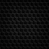 Les cubes 3D en noir rendent Photographie stock