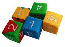 Les cubes des enfants Images libres de droits