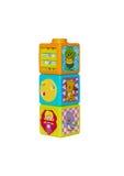 Les cubes des enfants se développants Image stock
