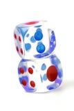 Les cubes pour chie Image libre de droits