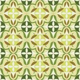 Les cubes sans couture abstraits en modèle créés de la couleur pousse des feuilles, illustration illustration libre de droits