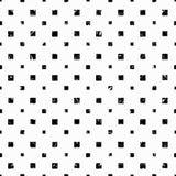Les cubes sur un papier peint grunge d'effet de fond blanc modèlent le vecteur sans couture Image stock
