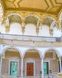 Les décorations dans la chambre de Carthage images libres de droits