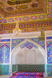 Les décorations de la salle de trône Photo libre de droits