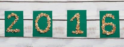 Les décorations de nouvelle année Images stock