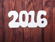 Les décorations de nouvelle année Photos stock