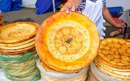 Les décorations sur le pain Images libres de droits