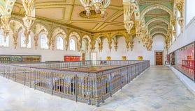 Les décors de plafond de la pièce de Carthage photos libres de droits
