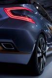 Les détails extérieurs de la voiture Élément de conception Images libres de droits