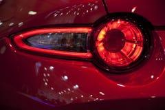 Les détails extérieurs de la voiture Élément de conception Photographie stock