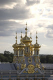 Les dômes d'or Photographie stock libre de droits