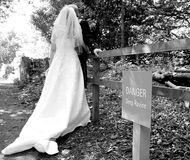 Les dangers du mariage Photo stock