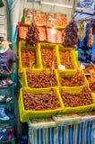 Les dattes sèches Image stock
