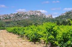 Les de baux-DE-Provence Royalty-vrije Stock Afbeeldingen