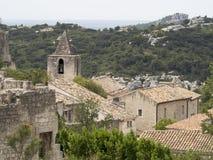 Les de baux-DE-Provence, Frankrijk Stock Foto