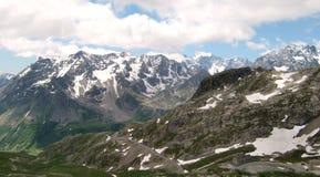 les de deux d'alpes Photos stock