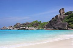 Îles de Similan, Thaïlande, Phuket Image stock