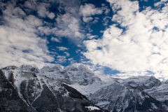 Les Dents-du-Midi Stock Images