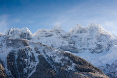 Les Dents-du-Midi Royalty Free Stock Image