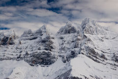Les Dents-du-Midi Royalty Free Stock Photography