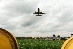 Les derniers moments de l'aéroport de wujiaba Images libres de droits