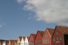 Les dessus des constructions Photo libre de droits