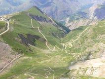 Les Deux Alpes Stockfotos
