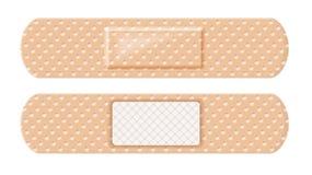 Les deux côtés de courroie d'aide de bande image stock