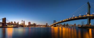 Les deux ponts Photo stock