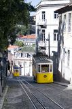Les deux tramways de Gloria Photos libres de droits