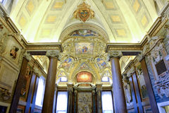 Les Di de basilique Santa Maria Maggiore à Rome Images libres de droits
