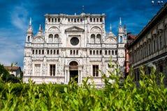 Les Di Pavie ou Charterhouse de Certosa de Pavie Images stock
